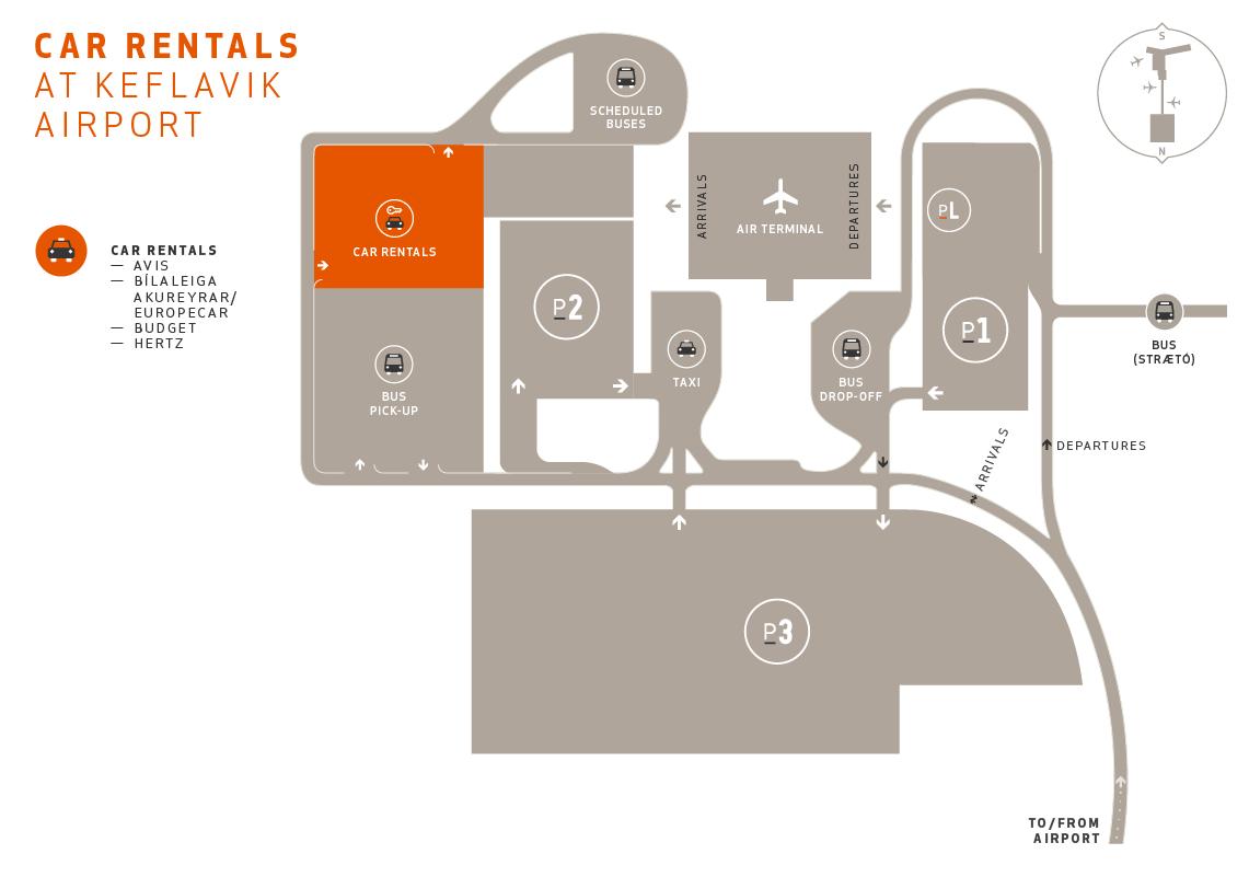 Car rental at Keflavik airport | Keflavik Airport on 2014 atlanta airport detailed map, atlanta tx map, magical express airport map,