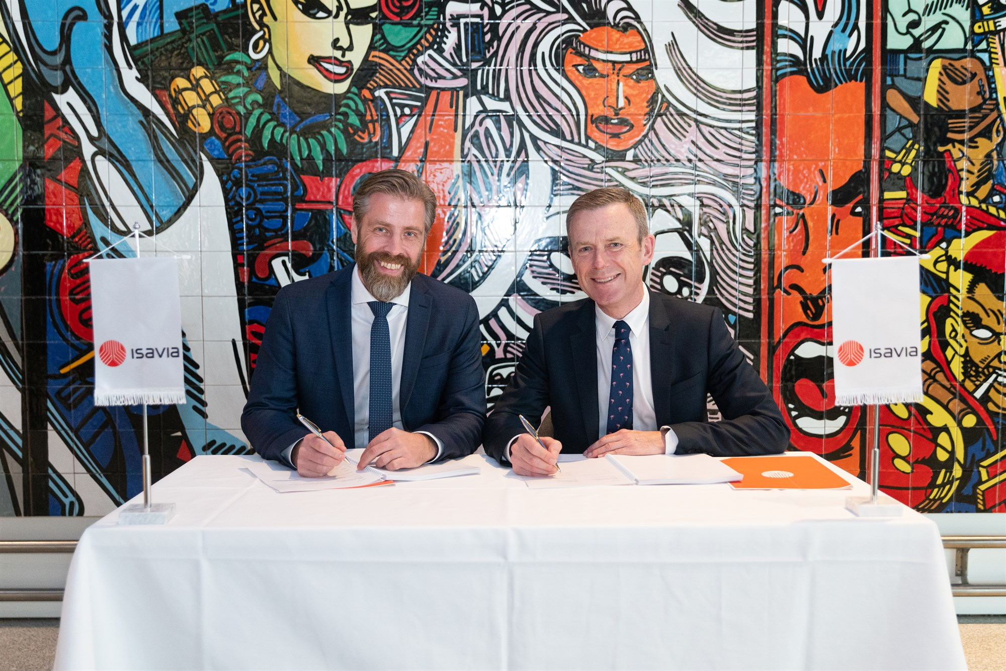 Agreement Signed with the UK Company Mace for the Future Development of Keflavik International Airport