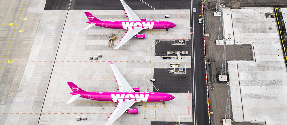 ANNOUNCEMENT FROM ISAVIA REGARDING WOW AIR