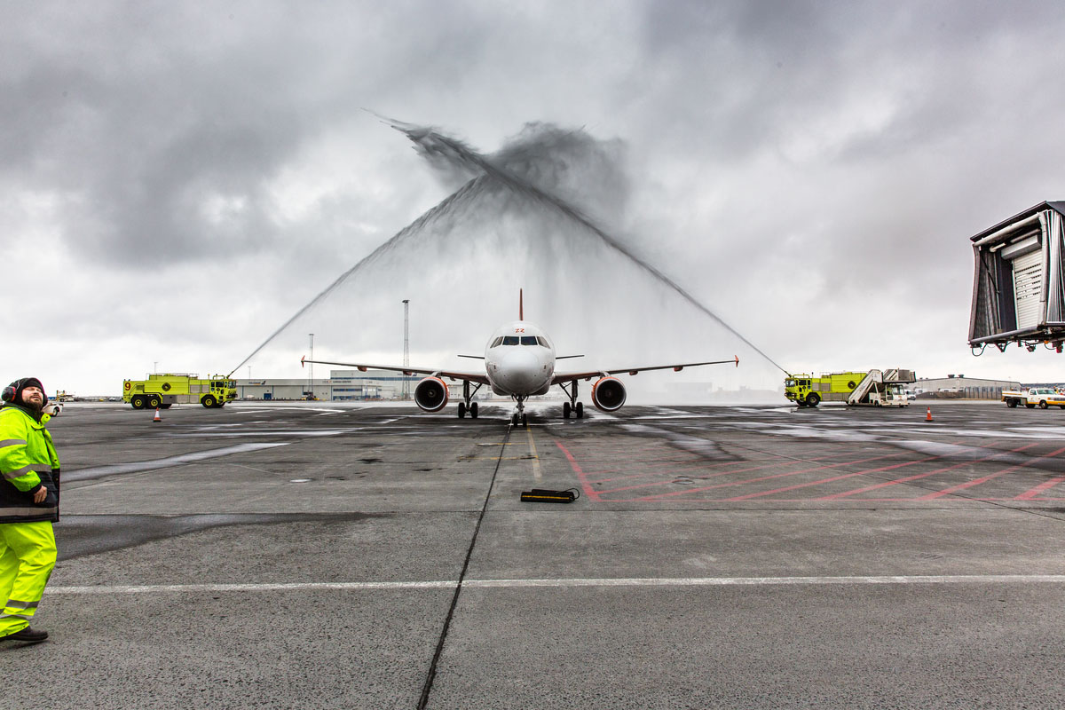 EasyJet opens new route between Basel and Keflavik International