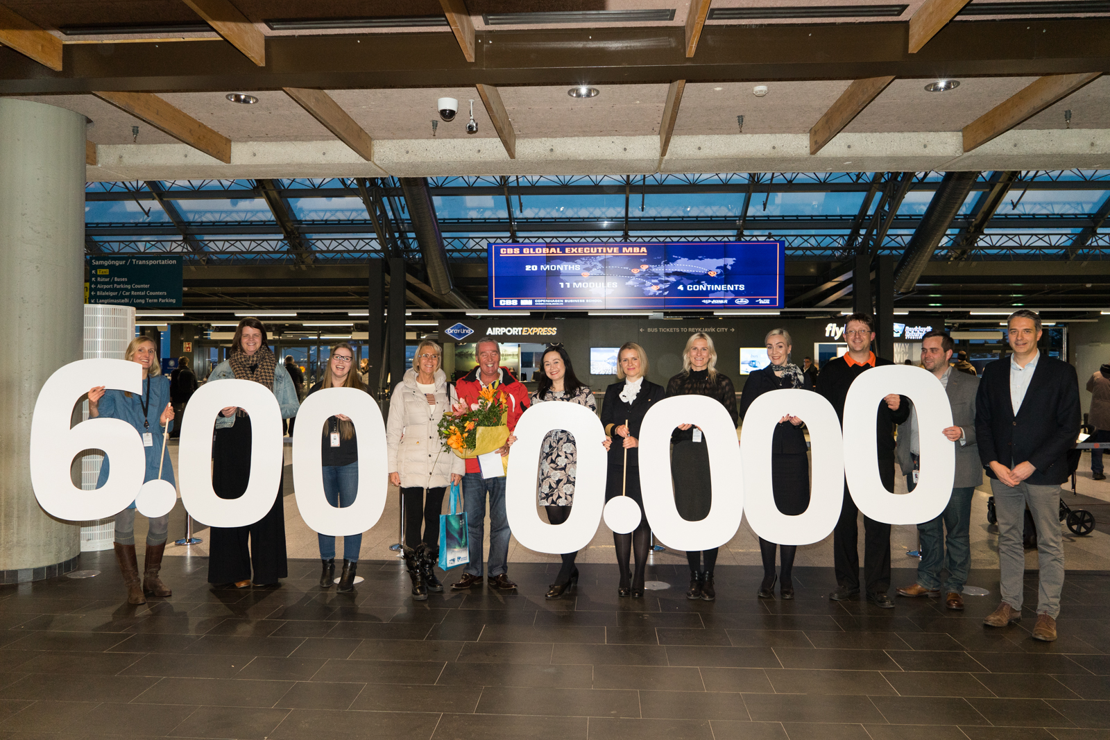 Over six million passengers have passed through Keflavik Airport this year