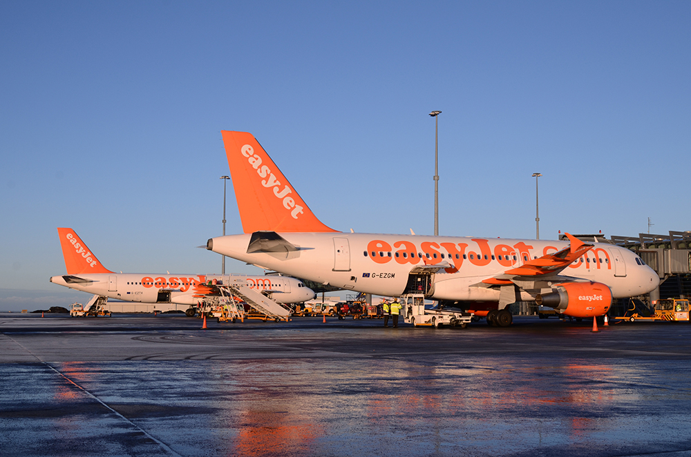 easyJet´s three new routes to London, Geneva and Belfast