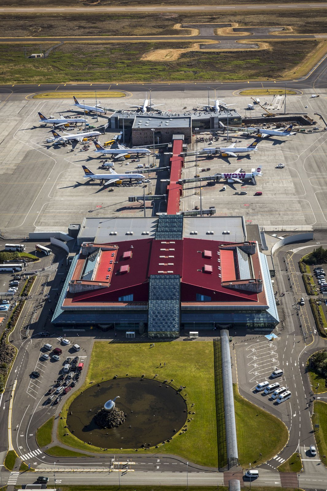 Traffic at Keflavik International Airport continues to rise