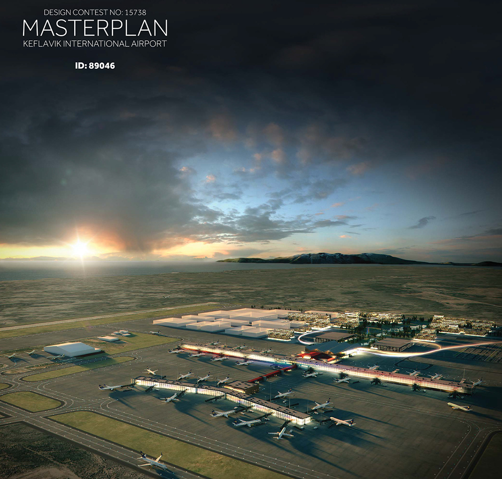 Winner announced in design contest for new Keflavik International Airport Master Plan