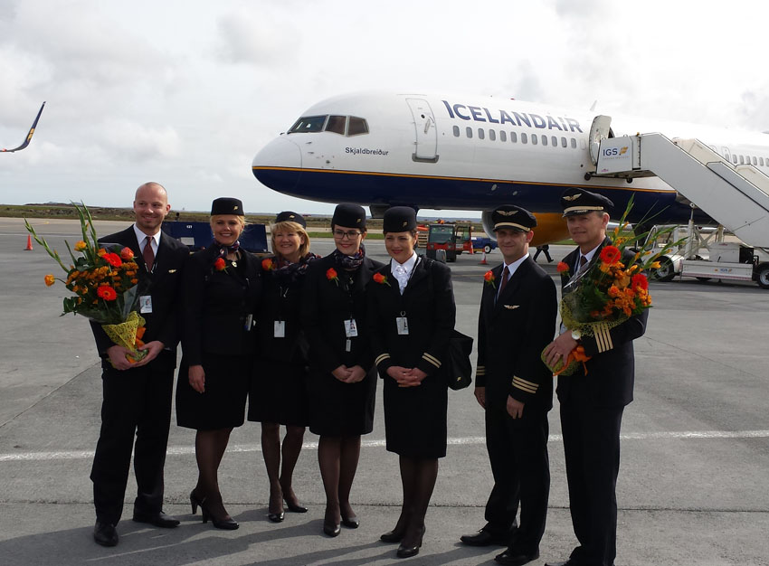 Icelandair opens a new route between Vancouver and Keflavik International